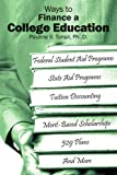 Ways to Finance a College Education, Pauline V. Tonsil, 1420871250