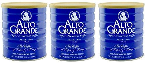 Alto Grande Super Premium Coffee Ground 8.8oz - 3 cans