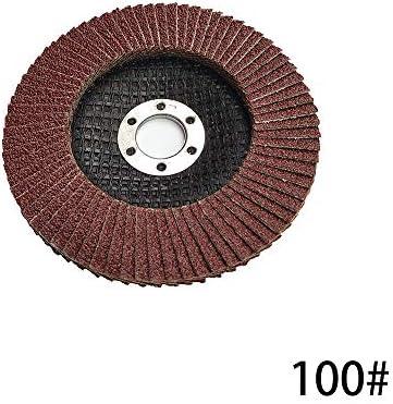 10 PSC 100mm Schleifscheiben Flap Discs 40-320 Körnung Winkelschleifer Schleifwerkzeug Polieren Schleifen Schleifscheibe