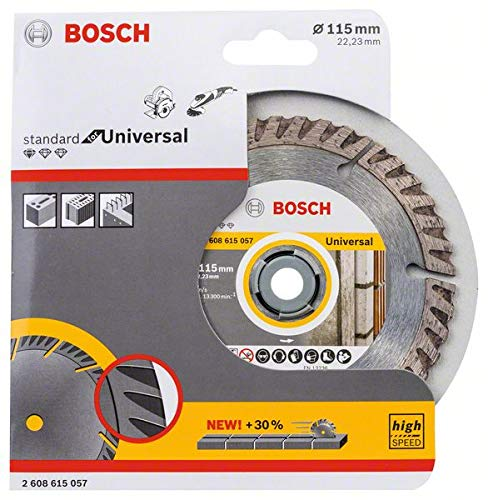 Bosch 2608615057 Diamond Standard Universal: 115 mm (1)