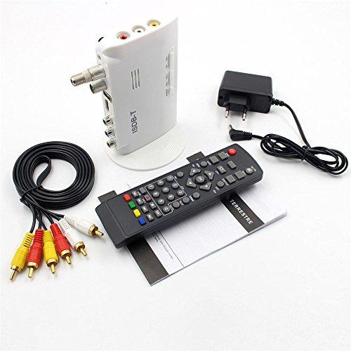 ISDB-T Digital Television Terrestrial converter TV Box Receiver 1080P HDMI Video ISDB-T HDMI AV