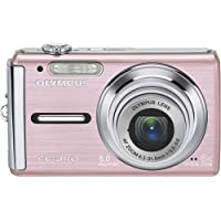 Olympus FE-340 Pink Camera Deluxe Kit Noticeable Review Image