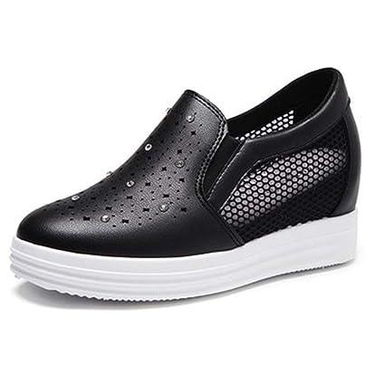9da4f596d5714 Amazon.com: DETAIWIN Womens Walking Sneakers Non Slip Hollow ...