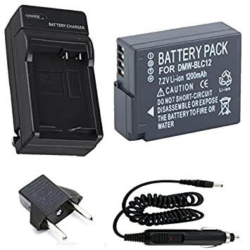 Batería y Cargador para Panasonic Lumix DMC-G7, DMC-GX8 ...