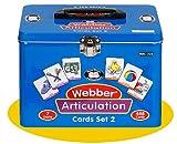 Set of 7 Webber Articulation Card Decks (Combo Set 2) - Super Duper Educational Learning Toy for Kids