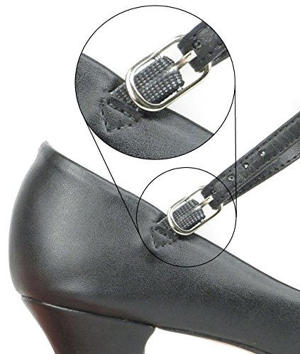 1 Character So M Sole Danca Width Suede Tango Heel Button Shoes Traditional Black Free 5´´ Dance Ch791 Pin Ladies Rumba Salsa With Latin q4Aa4E