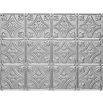 0604 Princess Victoria Backsplash Mill Finish Aluminum