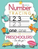number tracing workbooks - Number Tracing Book for Preschoolers and Kids Ages 3-5: Trace Numbers Practice Workbook for Pre K, K