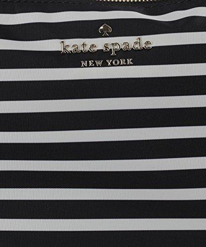 Kate Spade Borsa Shopping Donna PXRU7665071 Poliestere Bianco/Nero