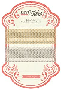 American Crafts DIY Shop Bakers Twine Embellishment