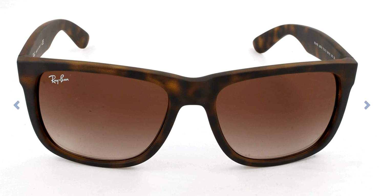 TALLA 55 mm. Ray-Ban Justin RB4165 Non-Polarized, Gafas de sol Unisex
