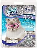 Feline Soft Claw Nail Caps - Medium - Silver Sparkle