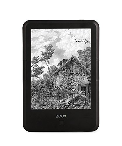 BOOX C67ML Carta 2 + E-reader,6'' E Ink Touch Regal Screen,8 GB Audio Books Reader Built-in Light,Wi-Fi by BOOX