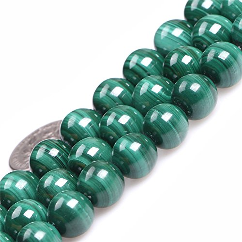 - JOE FOREMAN 10mm Malachite Semi Precious Gemstone Round Loose Beads for Jewelry Making AAA Grade DIY Handmade Craft Supplies 15