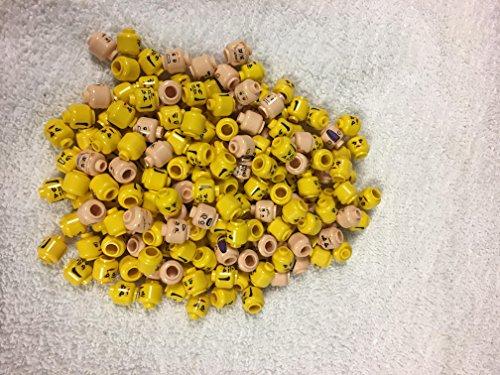 Random Minifigure Heads Yellow Female