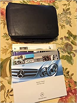 2006 mercedes-benz clk-class clk350 cabriolet owners manual down.
