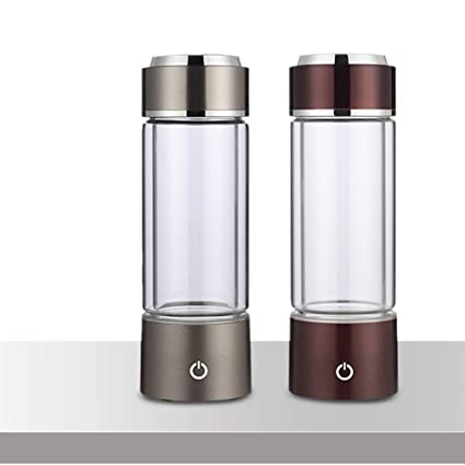 66073d3252 GRASSAIR 1 PCS SPE/PEM Hydrogen Rich Generator Water Ionizer Bottle with  Drain Hole Seperate H2 and O2 High Pure hydrogen 250ml: Amazon.co.uk:  Kitchen & ...
