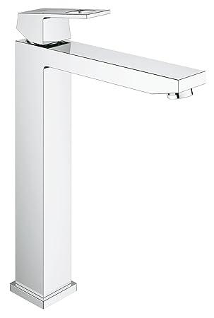 GROHE Eurocube Badarmatur für freistehende Waschschüsseln, glatter ... | {Waschbecken freistehend 79}