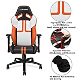 Ergonomic-Large-Size-High-back-Reclining-Office-Gaming-Chair-Andaseat-Big-and-Tall-Swivel-Rocker-Tilt-E-sports-Chair-with-Height-Adjustable-with-Lumbar-Support-and-HeadrestWhiteBlackOrange