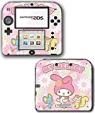My Melody Cute Pink Hello Kitty Video Game Vinyl Decal Skin Sticker Cover for Nintendo 2DS System Console