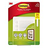 Tools & Hardware : Command Large Picture-Hanging Strips, White, 36-Strip