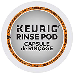 Keurig 5000057588 Rinse Brews in Both Classic 1.0 and Plus 2.0 Series K-Cup Pod Coffee Makers, 10 Count, White by Keurig