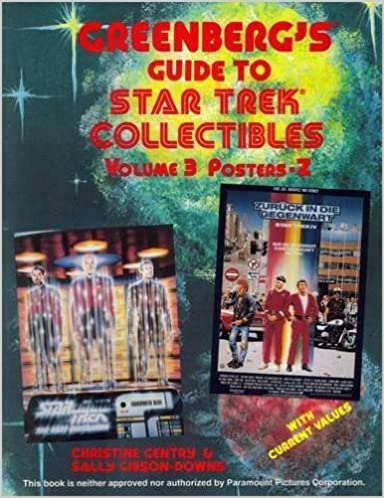 Book Greenberg's Guide to Star Trek Collectibles/R-Z by Christine Gentry (1991-12-03)