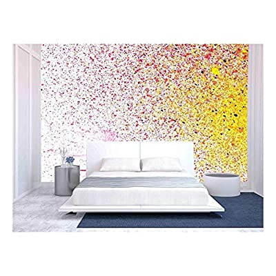 Paper Texture. Paper Sheet. Blur Out of Focus - Removable Wall Mural | Self-Adhesive Large Wallpaper - 66x96 inches