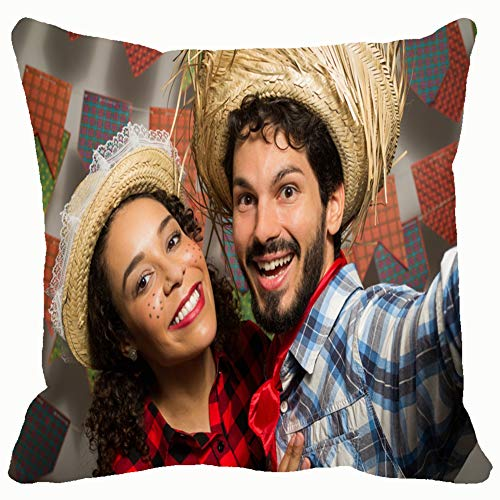 Festa Junina Party Brazil Month June Holidays Home Decorative Throw Pillow Case Cushion Cover for Gift Home Couch Bed Car 18