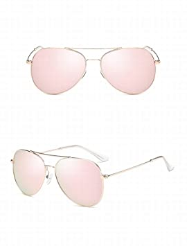 HOX Gafas Polarizadas Marea Clásica Gafas de Moda Hombres de Conducción Gafas de Sol, Powder