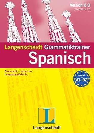 Langenscheidt Grammatiktrainer 6.0 Spanisch: Amazon.de: Software