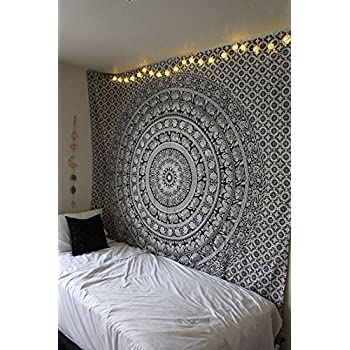 Boho Tapestry Above Bed