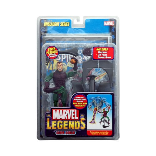 Marvel Legends Series 13 > Green Goblin (Unmasked Chase Variant) Action (Marvel Universe Green)