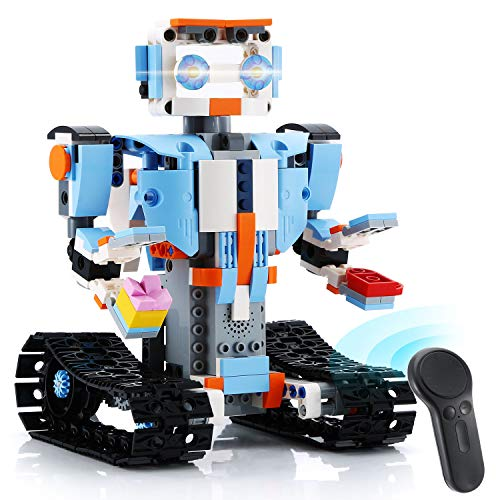 KeepRunning Remote Control Robot Kids Education Building Kit, Award-Winning STEM Learning Toy (351 Pieces)