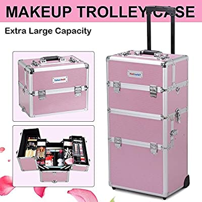 Yaheetech makeup-travel-cases-and-holders