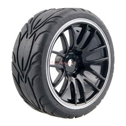 Buy Generic 8012 4pcs 110 On Road Car Tires 2664mm Plastic Wheel