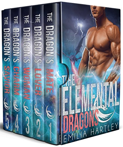 The Elemental Dragons Complete Series:  Books 1 - 5 cover