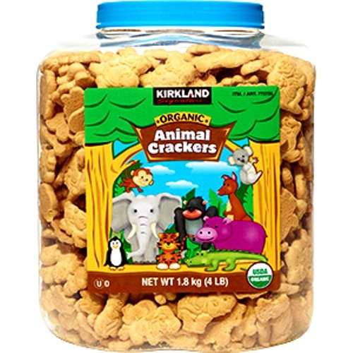 Kirkland Signature Organic Disney Animal Crackers, 64 ()