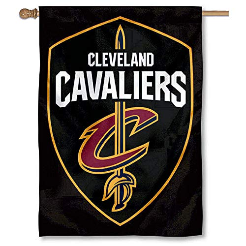 WinCraft Cleveland Cavaliers Shield Two Ply and Double Sided House Flag ()