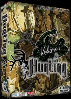 Vol 1 Hunting Vector Clipart Vinyl Cutter Slgn Design Artwork-EPS Vector Art Software plotter Clip Art Images