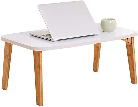 GL-Computer Desk Mesa Plegable Mesa Multifuncional portátil para ...