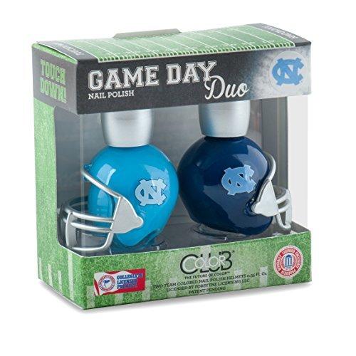 (Color Club North Carolina Tar Heels Game Day Duo Nail Polish)