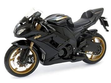 2010 Kawasaki Ninja ZX 10R Maisto 31187 Schwarz 112