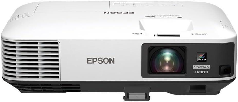 Epson EB-2250U - Proyector (5000 lúmenes ANSI, 3LCD, WUXGA (1920x1200), 400:1, 16:10, 1270 - 7620 mm (50 - 300