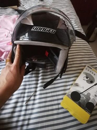 Natuoke-ヘッドフォン-ブルートゥース-Bluetooth-ワイヤレス-ヘルメットヘッドフォン-マジックテープ固定