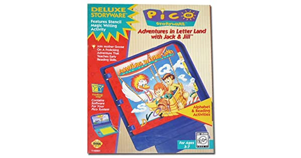 Amazon com: Sega Pico Storyware Game Cartridge: Adventures