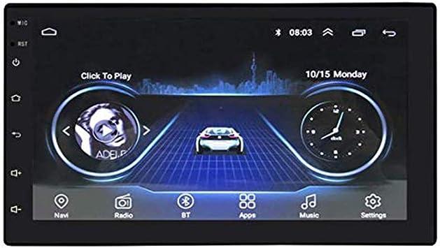 Android Auto Stereo Bluetooth Internet Multimedia 2 Din Elektronik