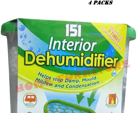 4 PACKS (151 Interior Dehumidifier) </div>
