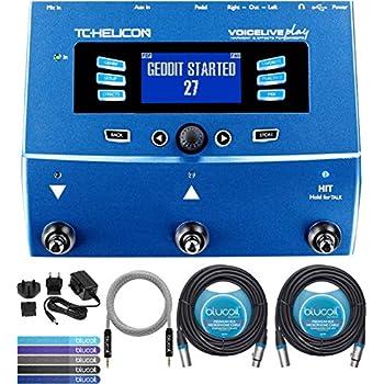 Amazon com: TC-Helicon VoiceLive 2 Vocal Effects Processor