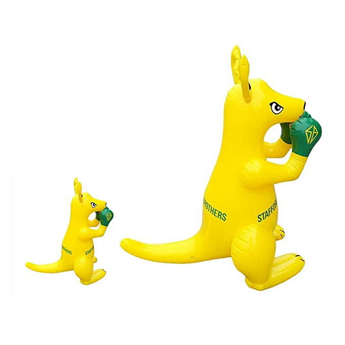 Amazon.com: FashionSun Canguro inflable de boxeo, juguetes ...